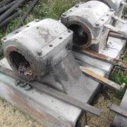 Sliding blocks for Barsanti granite gangsaws
