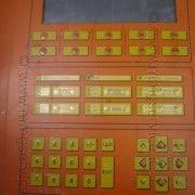 Used cabinet components for Barsanti granite gangsaws