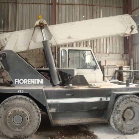 Used mobile crane fiorentini 15 ton