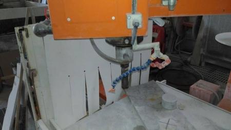 Used multifunctional grinding, polishing, drilling machine Ravelli Syrma