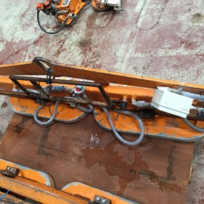 Used suction cup for marblestone slabs Delforno