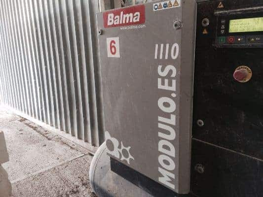 Used Screw Compressor Balma ES11