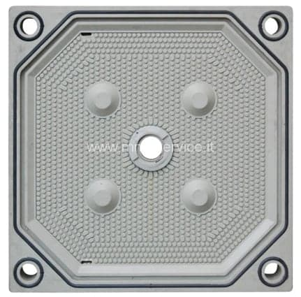 Polypropylene plates for filter press