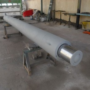 Used hydraulic Cylinder dismounted from fork lift