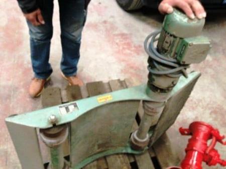 Used drum turner Morandi Sew motorized