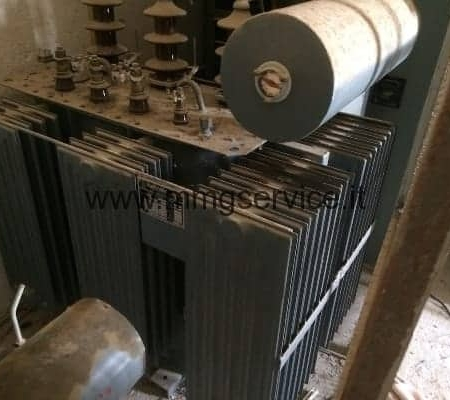 Used Three Phase Transformer 315 KVA oil immersed