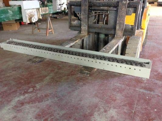 Used reconditioned tensioner Spadoni for marble gangsaw