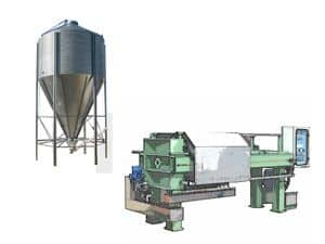 Sludge treatment systems spare parts