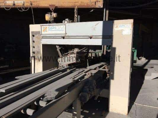 Used chipping machine SPIGM SP-3T for stone working
