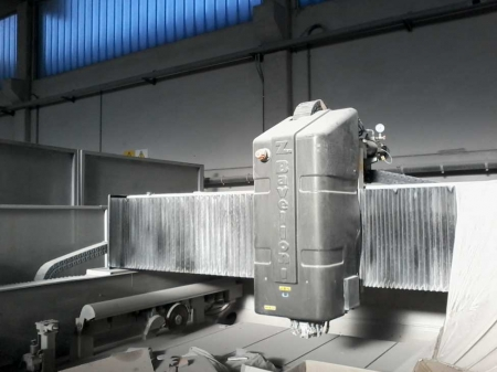 Used CNC Machine Bavelloni 323-5 5 axes for marble and granite