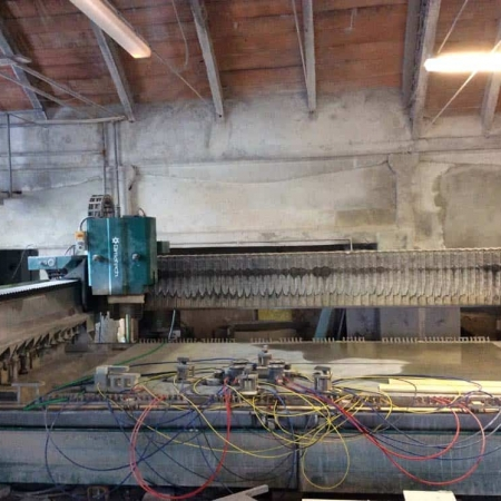 Used CNC Machine Bimatech Technostone 4000