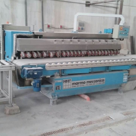 Used edge polisher MarmoMeccanica LCH711 M for flat