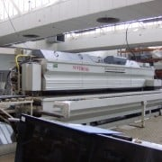 Used edge polisher flat and round edges Comandulli Synthesis PNC T100