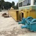 Used gantry crane Puppinato 25 ton 23+5 m