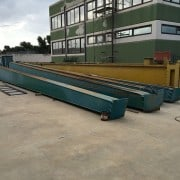 Used gantry crane Puppinato 25 ton 23+5 m