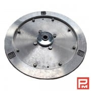 Aluminium flywheel dia 385 mm – diamond wire saw Pellegrini