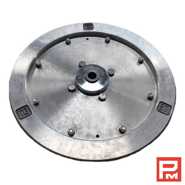 Aluminium flywheel dia 385 mm – diamond wire saw Pellegrini | MMG ...