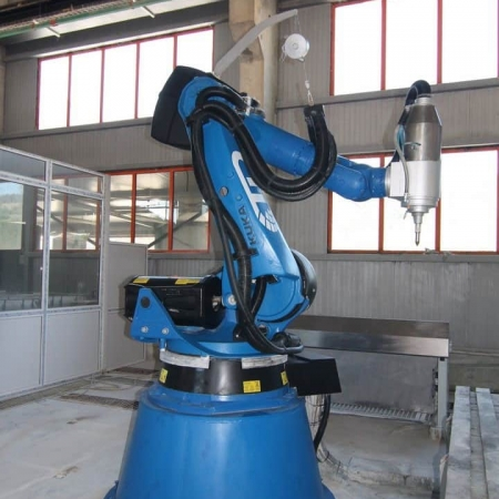CNC robot T&D Robotics Lapisystem 12/30 Start - 6 axis - marble and granite