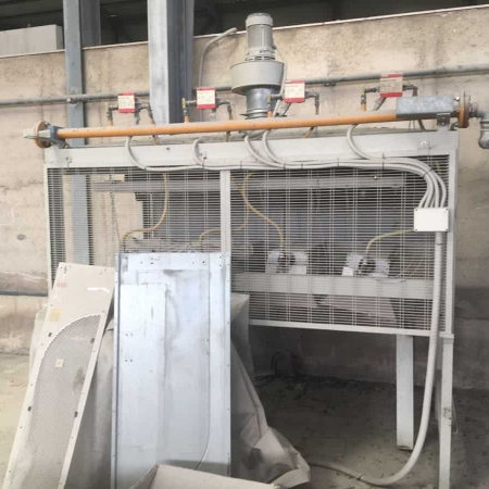 Used resin line furnace Breton 200 IG 12X