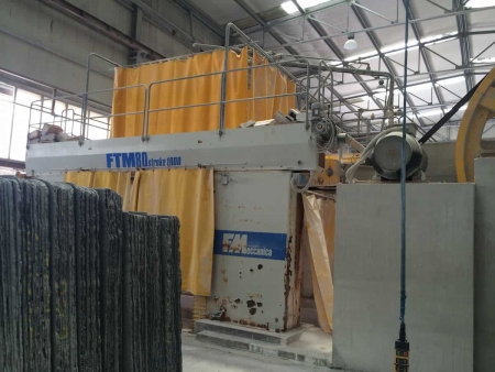 MMG used gangsaw marble 80 blades fmeccanica