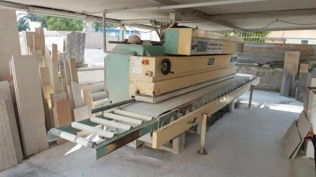 Used edge polisher Cavani Meccanica ECO