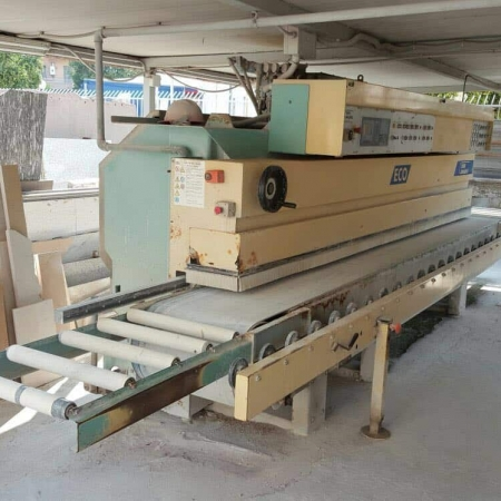Used edge polisher Cavani Meccanica ECO