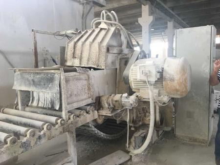 Cutting machine Hydrotek multiple discs 1200