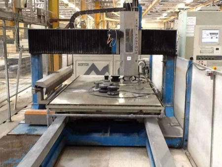 second hand CNC marble machine Isimar 3 axes