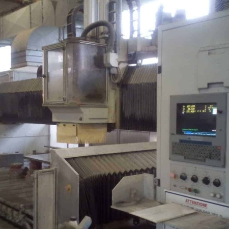 Used second hand CNC machine Brembana MODULCONTROL 3 Axes