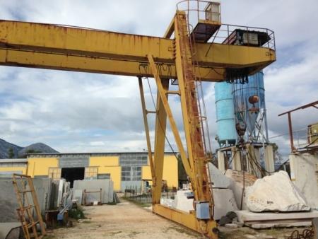 Gantry crane Giacomini 20 Tons - 14.5+5+5