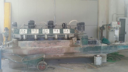 Polishing machine marble tiles Simec 600 1+5