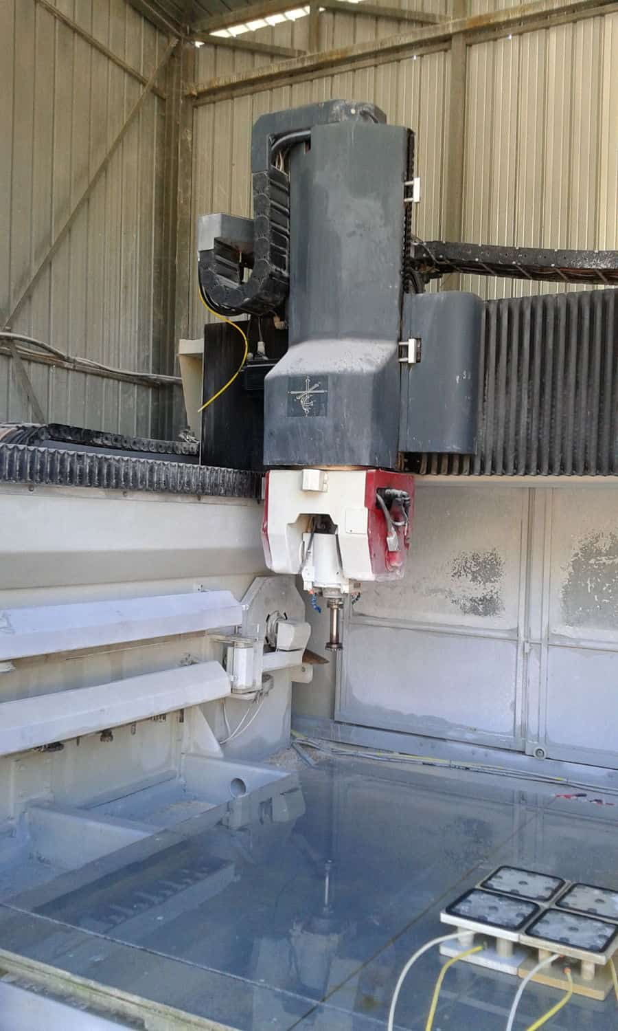 Cnc Machine Intermac Top Master 655 5 Axes Marble