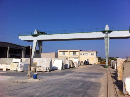 Used gantry Crane Michielotto 35 tons