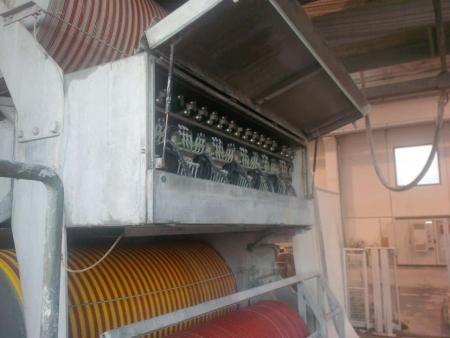 Used multiwire machine Breton model GOLD 2000/6,3/V/70