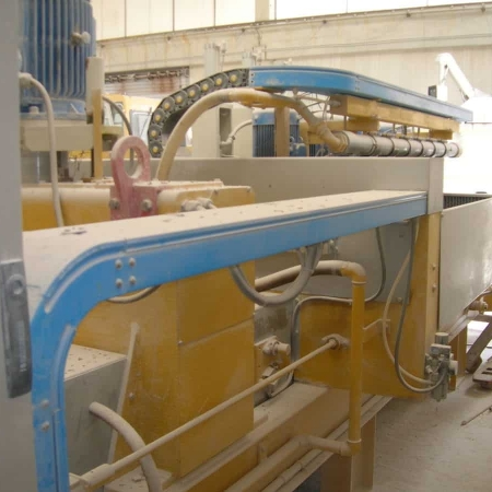 Used polishing machine for marble tiles Cemar LM800 1+6