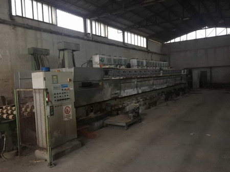 Polishing machine for granite Gaspari Menotti PGH\MK2