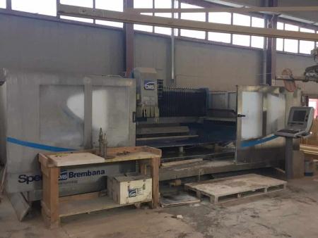 CNC Brembana CMS - Speed 236 - 4 assi marmo e granito