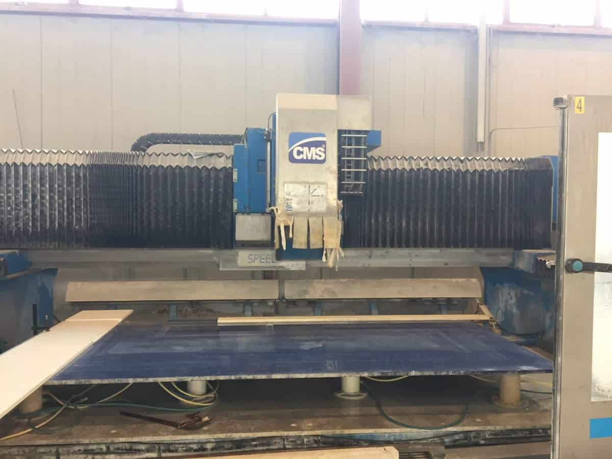 Cnc Brembana Cms Speed 236 4 Axes Marble And Granite