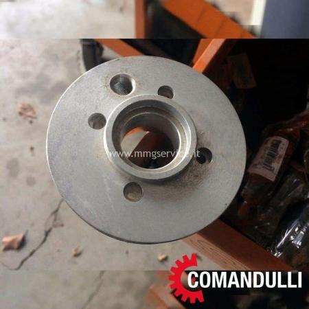 Flangia in alluminio per testa Comandulli