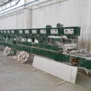 Polishing machine marble tiles Terzago 610 2+8