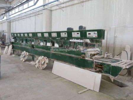 Polishing machine marble tiles Terzago 610 2+8