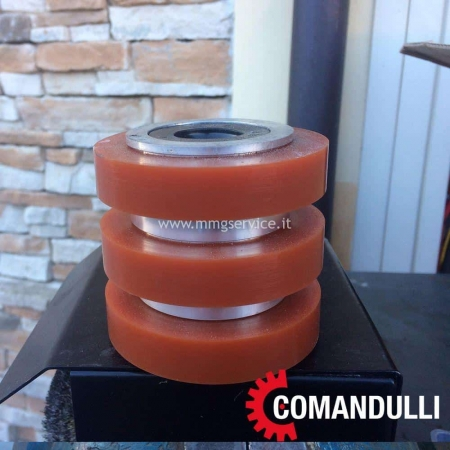 Slab holders wheel for edge polishers Comandulli
