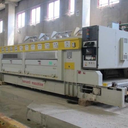 Pulidora / máquina de Calibración de granito Barsanti B6+4
