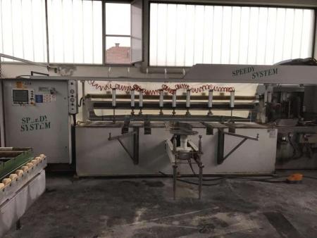 Edge polisher Comandulli Speedy System