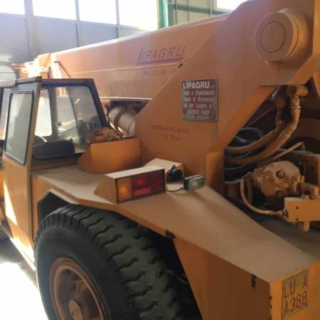 Mobile crane LIPA - Paco 80.15 Ton