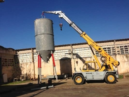 Mobile crane Ormig 10 Tons