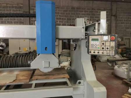 Bridge saw monoblock Emmedue Globo PLC - Reconditioned