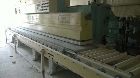 Edge polisher Cavani Meccanica Maxi BL