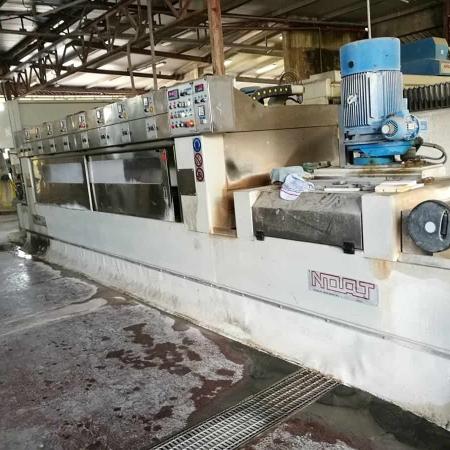 Polishing machine for marble tiles Noat Venus 80 1+8