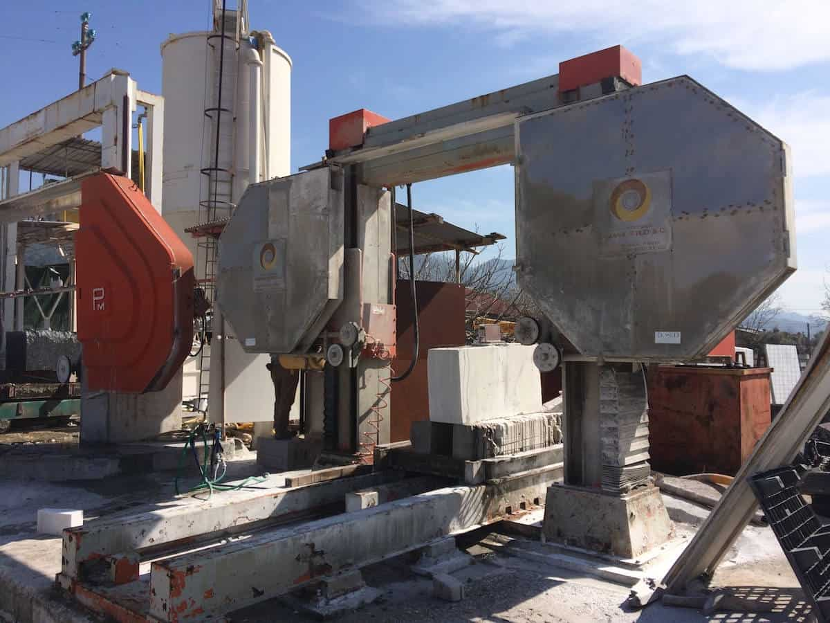 Single wire saw 3D Shaping Candiani - SUPERSAG C | MMG Service srl